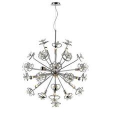 Iberlamp C354-15-CH Flora - Fifteen Light Pendant