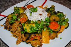 Mittags wurden bei SteVi Reste verarbeitet - so toll kann eben Resteküche sein in vegan!