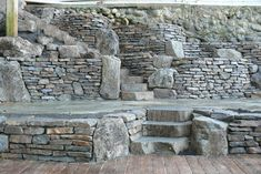 Vancouver Masonry by The Emerald Coast - Basalt Dry-Stack Retaining Walls