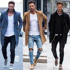Magic Fox #Fashion #Men #Style #Rippedjeans #OnPoint #Street