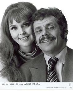 Jerry Stiller & Anne Meara: Jerry: Gerald Issac Stiller, NYC, ). Anne and Jerry were a comedy team and were married in She converted to Judaism in They are the parents od Ben Stiller. Hollywood Couples, Celebrity Couples, Hollywood Stars, Classic Hollywood, Old Hollywood, Celebrity Photos, Hollywood Celebrities, Easy Listening, Jazz