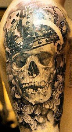 skull tattoos for men 2014 (3)