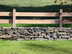 Stone wall, Horse Fencing upgrade