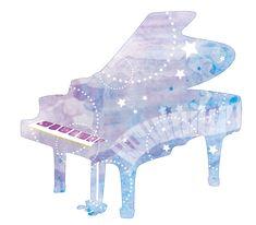 水彩風ピアノイラスト Music Decor, Piano Teaching, Amazing Drawings, Piano Music, Bts Wallpaper, Cosmic, First Love, Fantasy, Disney Characters