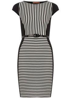 View All Dresses High Street Fashion, I Love Fashion, Fashion Looks, Petite Outfits, Womens Fashion Online, Rock, Dress Me Up, Playing Dress Up, Striped Dress