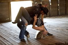 Country Dancing!  Now that's HOT!