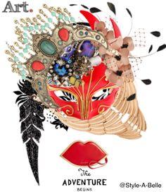 Fashion is ART. #SAB #Art #Jewelry