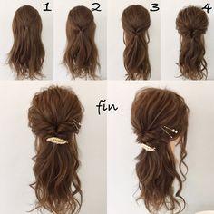 Pin by Betty Davis on Hair in 2020 Hair Arrange, Braids For Long Hair, Bridesmaid Hair, Hair Dos, Hair Designs, Hair Lengths, Her Hair, Braided Hairstyles, Hair Inspiration