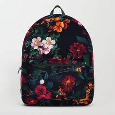 4d4add4f47 Buy The Midnight Garden Backpack by rizapeker. Worldwide shipping available  at Society6.com.