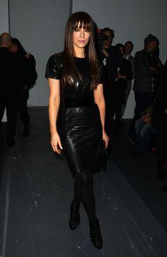 Kate Beckinsale at the 2009 Calvin Klein Womenswear Fall Fashion Show
