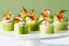 Cucumber Roulades recipe