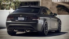 Love the all black M coupe
