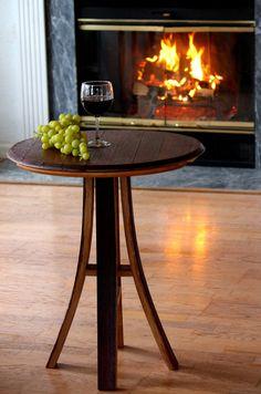 Wine Barrel Table Wine Barrel Bistro Table Wine by CRdezines