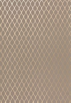 Valencia in Taupe / Pewter // powder room wallcovering
