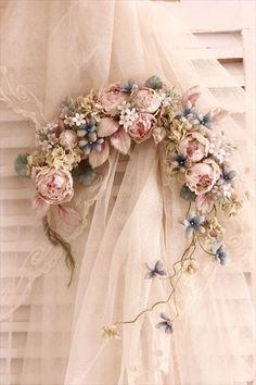 イメージ0 - 夢見る花嫁さんのヘットドレスの画像 - 布花 haru7日記 - Yahoo!ブログ
