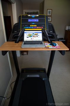 My Homemade Treadmill Desk: An unusual recipe for making your own treadmill desk