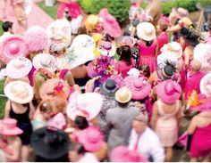 The doesn't do subtle. But the parade of plumage at the Kentucky Oaks (today), may give the flamboyant style at the Run for… Oaks Day, Derby Horse, Derby Outfits, Run For The Roses, Pink Out, Churchill Downs, Derby Day, Kentucky Derby Hats, Flamboyant