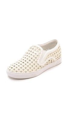 Ash Kurt Perforated Slip On Sneakers | SHOPBOP