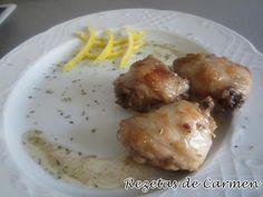 Pollo con limón y miel