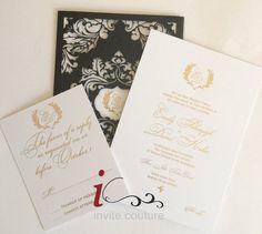 #custom #lasercut #invitations #paperwelove #invitecouture #foil #letterpress #silkscreen