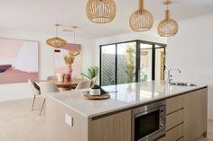 #newhome #newlevelhomes #displayhome #thearthouse #kitchen #diningroom #microwave #artusiappliances #europeanappliances