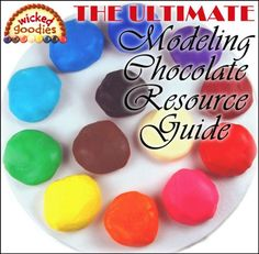Here is the web's best online resource guide to working with modeling chocolate including 30+ tutorials with 10+ instructional videos. This is a free supplement to the book, Cake Decorating with