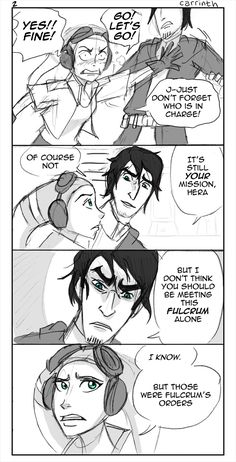 SW Rebels: Different Journeys AU FF2 by carrinth