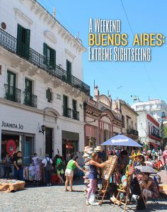 Thinking of spending a weekend in Buenos Aires, Argentina? Here's a quick look at some of the things to do in this picturesque city.
