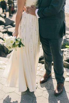 60 Sequin Wedding Dresses That Excite   HappyWedd.com