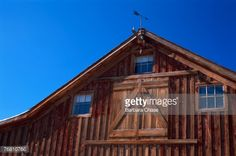 Stock Photo : Weathered barn, California