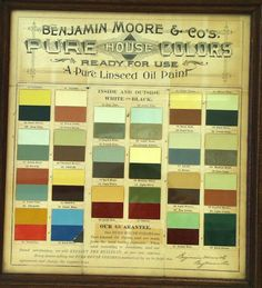 Paint palettes design and bedroom designs on pinterest for Benjamin moore paint program