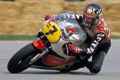 Motorcycle Racing Heroes of the Past Motorcycle Racers, Racing Motorcycles, Grand Prix, Eddie Lawson, Cafe Bike, Old Bikes, Champions, Vintage Racing, Road Racing