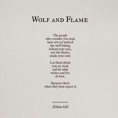 Wolf and flame by Nokia Gill