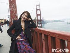 La revista de moda y belleza, InStyle, reveló una serie de fotos de la actriz Park Shin Hye. La estrella visitó San Francisco en Estados Unidos para una sesión fotográfica, y las fotos muestran a la actriz posando en lo que parece ser el simbólico puente Golden Gate. Otras fotos muestran a la actriz en …