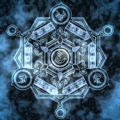 This is Apollonia's magic circle. Her magic is solar-based, shown by the various Sun symbols in the circle. Alchemy Symbols, Magic Symbols, Element Symbols, Final Fantasy X, Fantasy Art, Spell Circle, Magic Art, Ice Magic, Magic Circle