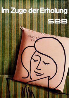 Jürg Spahr / SBB - Im Zuge der Erholung / 1966