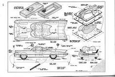 1966 batmobile blueprints - Google Search | 1960's Batmobile ... on batwing schematics, trailer schematics, batpod schematics,