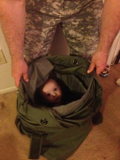 Take me with you, Dad.