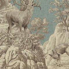 Fabric: JAGDZIMMER - HELLBLAU