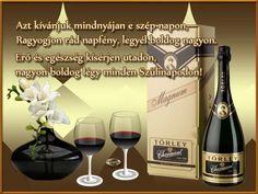Kapcsolódó kép Red Wine, Birthday Cards, Alcoholic Drinks, Glass, Happy, Google, Pretty, Anniversary Cards, Liquor Drinks