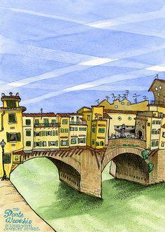 Tommy Kane's Art Blog: Bridges Of Tuscany County