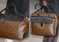 Gorgeous mens Louis Vuitton travel handbags #fashion & #style