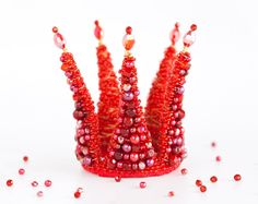 Fascinator Princess crown. Pink crownstudio prop girls by ArsiArt, $49.00