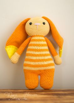 amigurumi crochet bunny, stuffed toy, handmade, easter bunny