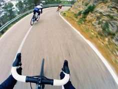 I need a helmet cam, or whatever kinda cam, so I can do my own pics like this. That'd be cool.