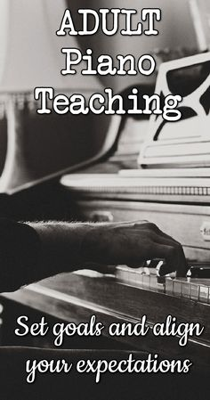 Level up your adult piano student teaching game with these 4 tips. http://colourfulkeys.ie/practical-guide-teaching-adult-piano-students/