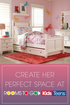 17 Glam Gorgeous Girls Rooms Ideas Rooms To Go Kids Rooms To Go Girl Room