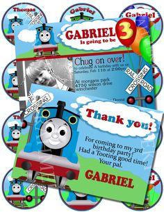 Thomas The Train Digital Birthday Package Digital by Sarahmkey