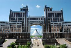 Astana's Khan Shatyr is the World's Biggest Tent!: Developed by Foster + Partners to be a center piece for the new capital city of Astana, Kazakhstan, the project had to withstand the extreme temperature swings of the elevated and arid region. (2)