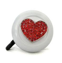 Strawberry Chocolate Cupcake Love Heart Bicycle Handlebar Bike Bell